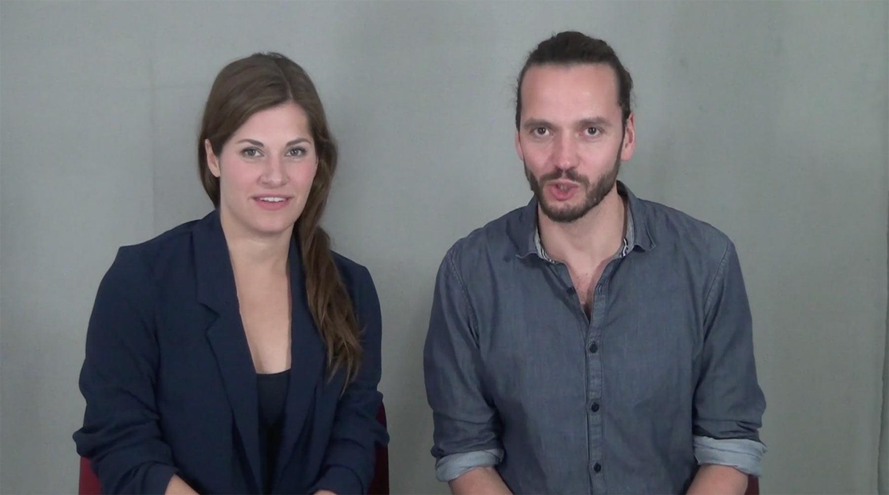 Jennifer  Breitrück und Robert Neumann